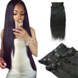 New Arrival 100% Virgin Hair Clip Hair Extension Brazilian Remy Human Hair
