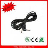 L Shaped Metal 6.35mm Mono Plug Electric Guitar Cable