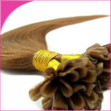 Pre Bonded Human Hair Extension U Tip Natural Human Hair