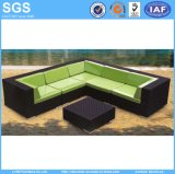 Patio Furniture Black Rattan Corner Sofa Garden Set