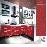 Pattern Kitchen Cabinets Customzied Sizes with Colorful Surface (DM-9620)