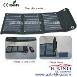 15W Portable Folding Solar Panel Charging Kit