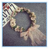 Hair Accessories Bridesmaid Decoration Woman Wedding Headdress Seaside Resort Simulation Flower Hair Wreath Headband
