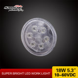 18watt Bright Power 5.3inch Machinery Use LED Agricultural Light