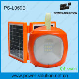 2W Portable Solar Light LED with USB Phone Charger