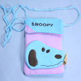Cute OEM Design Cotton Mobile Phone Pouch