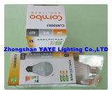 Yaye CE/RoHS Approval Top Sell E27 SMD 7W LED Bulb/E27 LED Bulb Lamp with USD3.62/PC (YAYE-GDLB7WA)