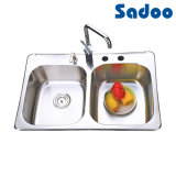 Undermount Stainless Steel Sink with Faucet