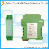 DIN Rail Mounting 4 20mA PT100 Rtd Temperature Transmitter