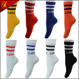 Men Sport Cotton Basketball Socks