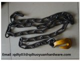 Blackened Chain Series G80 Link Chain Hook