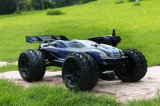 1/10 Scale 2 Channel Transmitter RC off Road Truggy 2.4GHz Electric Brushless RC Car Model