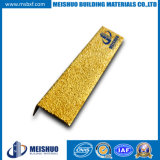 Exterior Stair Treads with Safety Yellow Carborundum Inserts