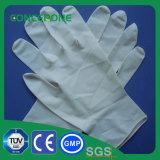 Length 240mm Powdered 100% Natural Latex Examination Gloves