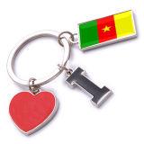 New Custom Metal Souvenir Cameroon Keyring