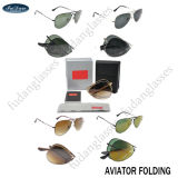 Made in Shenzhen Branded Name Fashion Aviator Sunglasses