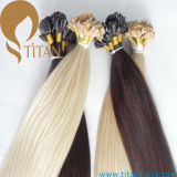 Remy Indian Hair Pre Bonded U Tip Hair Extension