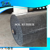 Black with EPDM Granules Commercial Grade Roll Rubber Mat