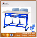 China New School Furniture Classroom Syudy Double Desk and Chair (SF-32D)