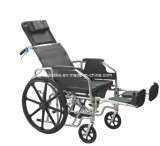 Funcational Commode Wheelchair (ALK608LBGC)