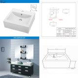 Bathroom & Kitchen Artistic Sink Ceramic Wash Basin (SN112-037)