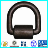 10t Forged Container Lashing D Ring with Bracket