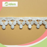 Swiss Fashionable White Water Soluble Lace Trim