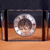 High Quality Crystal Clock Table Clock as Business Gifts (KS06050)