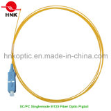 Singlemode 9/125 Sc PC PVC LSZH Fiber Optic Pigtail
