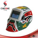 Peking Opera Picture Power Auto Darken Welding Helmet
