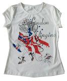 Custom Design Cotton Kid′ S Children T Shirt for Promotion (SGT-022)
