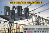 Modularized Industrial Ethernet Switch Complying with IEC61850-3 and IEEE 1613 Standards for Power Substation & Smart Grid