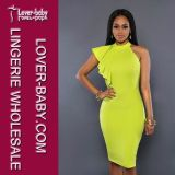 New Fashion Ladies Bodycon MIDI Party Dress (L36084)