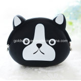 Fashion Silicone Rubber Mickey Coin Purse for Promotion Gifts