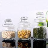 500ml Creative Glass Candy Jar Sealed Octagon Glass Coffee Sugar Tea Jar