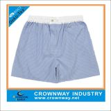 Mens Plain Grey Cotton Boxers Short with Custom Logo