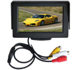 4.3 Inch Car Back Seat LCD CCTV Test Monitor with AV Input