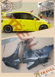 Carbon Fiber Fenders with Hold for Honda Jazz Fit 2004