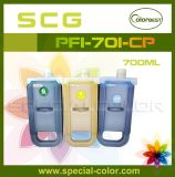 Hot Selling, Compatible Pfi701 Ink Cartridge for Ipf8000/9000 Printer