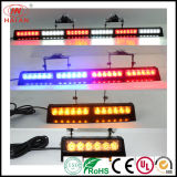 Visor Light Emergency LED Warning Strobe Split Mount Deck Dash LED Lightbar Traffic Light