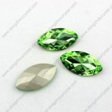 Pujiang Wholesale Fashion Cheap Loose Crystal Point Crystal Stone Bead