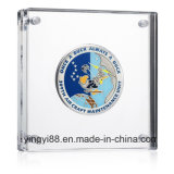 Best Selling Acrylic Coin Holder with SGS Certificates