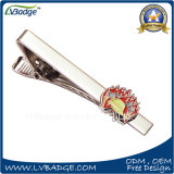 Custom Enamel Logo Tie Clip with Badge