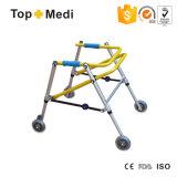 Topmedi Children Foldable Aluminum Walking Aids with Wheels