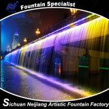 Bridge Waterfall Complex Fountain