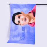 Promotional Microfiber/Cotton Beach Towel for Soccer Club Advertising