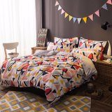 China Manufacture Wholesale Price Printed Cotton Bed Linen Bedding Set