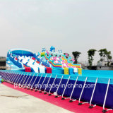 Combined Pool with Steel Frame