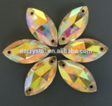 Crystal Navette Sew on Garment Stones Beads (DZ-3066)