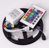 Non Waterproof 5m 12V SMD3528 RGB LED Strip Light Kit